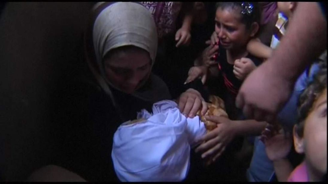 Gaza baby funeral