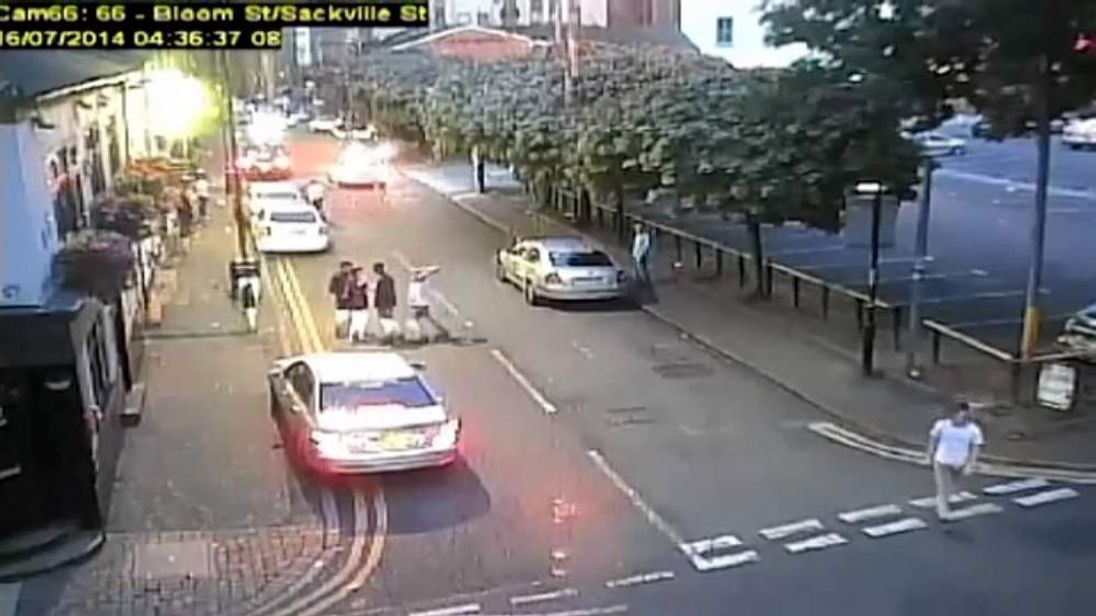 Footage from GMPolice