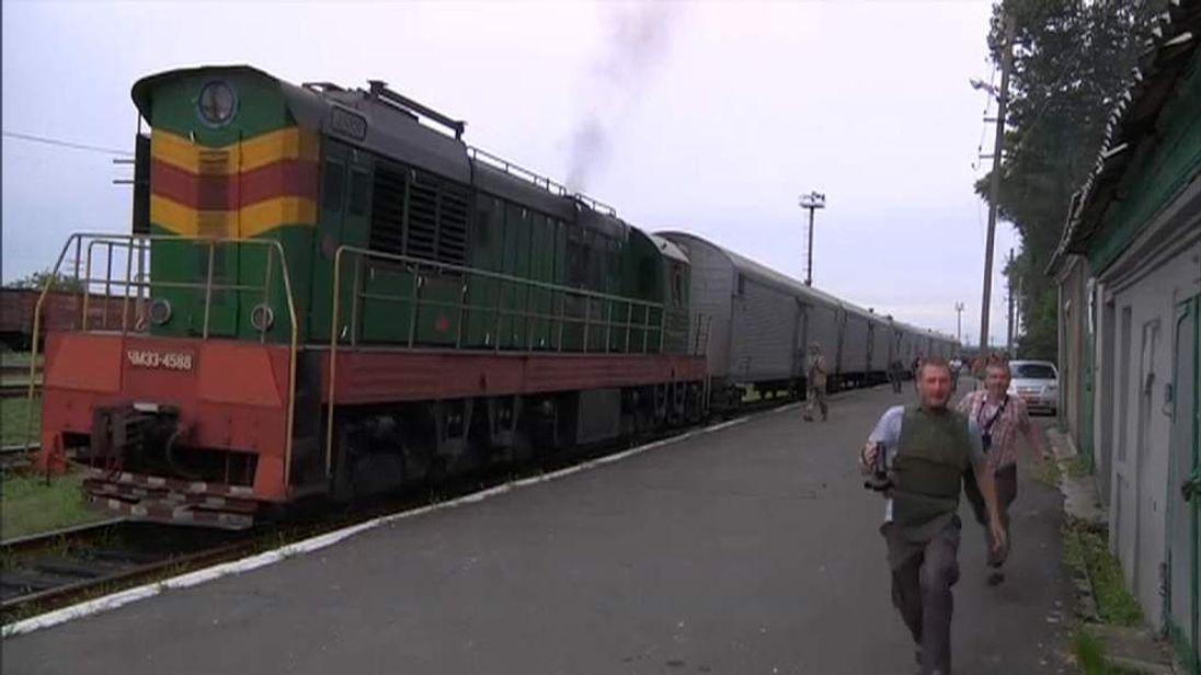 The train leave Torez