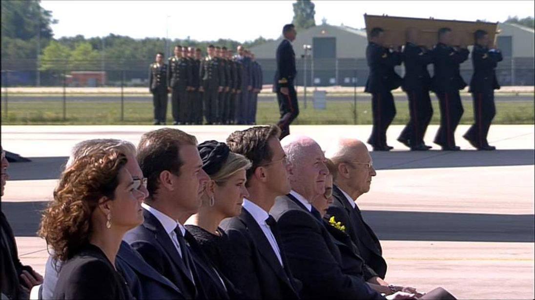 MH17 crash victims arrive in The Netherlands