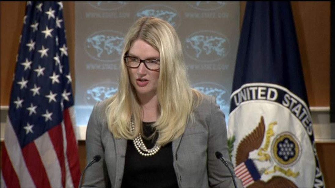 US State Dept spokesperson Marie Harf