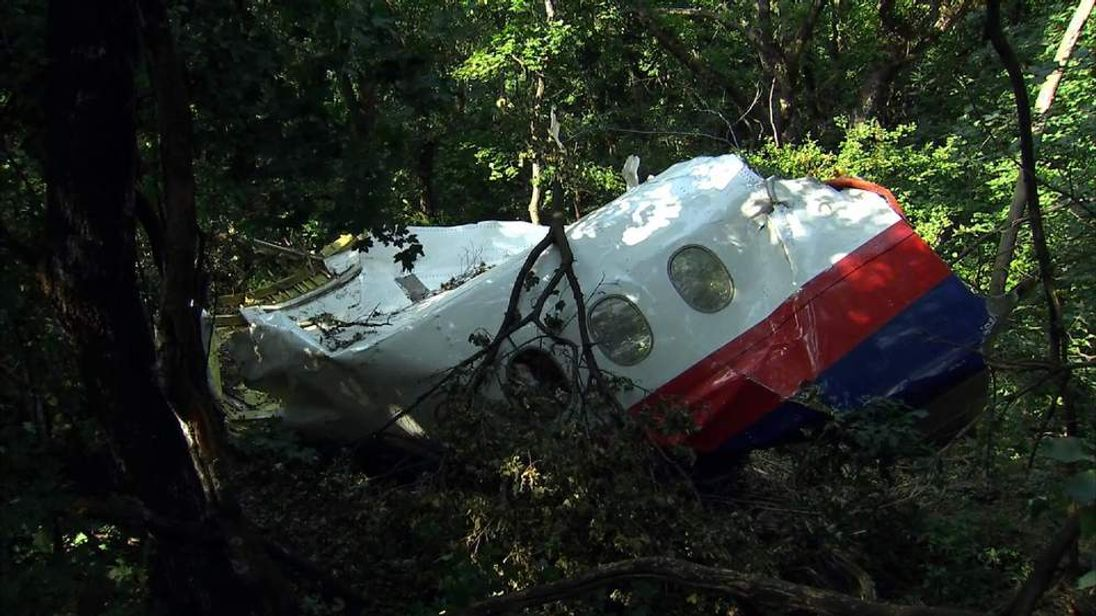 New wreckage of MH17 found in woodland