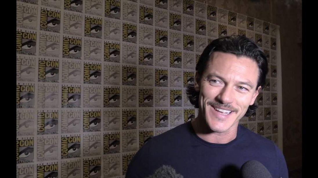 THe Hobbit's Luke Evans at Comic-Con