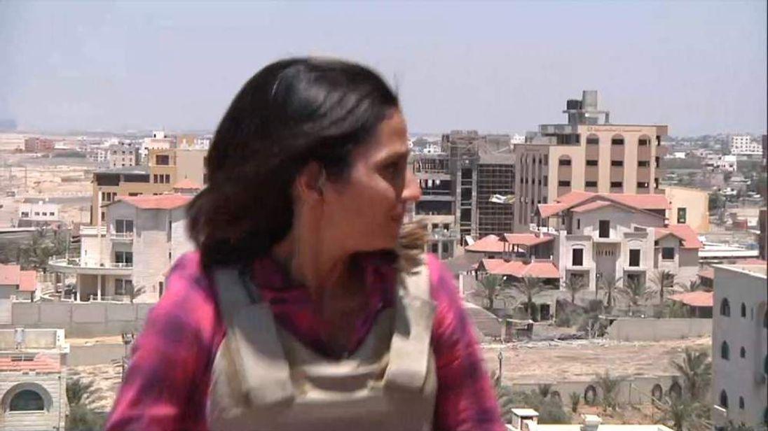 Sky's Sherine Tadros in Gaza City