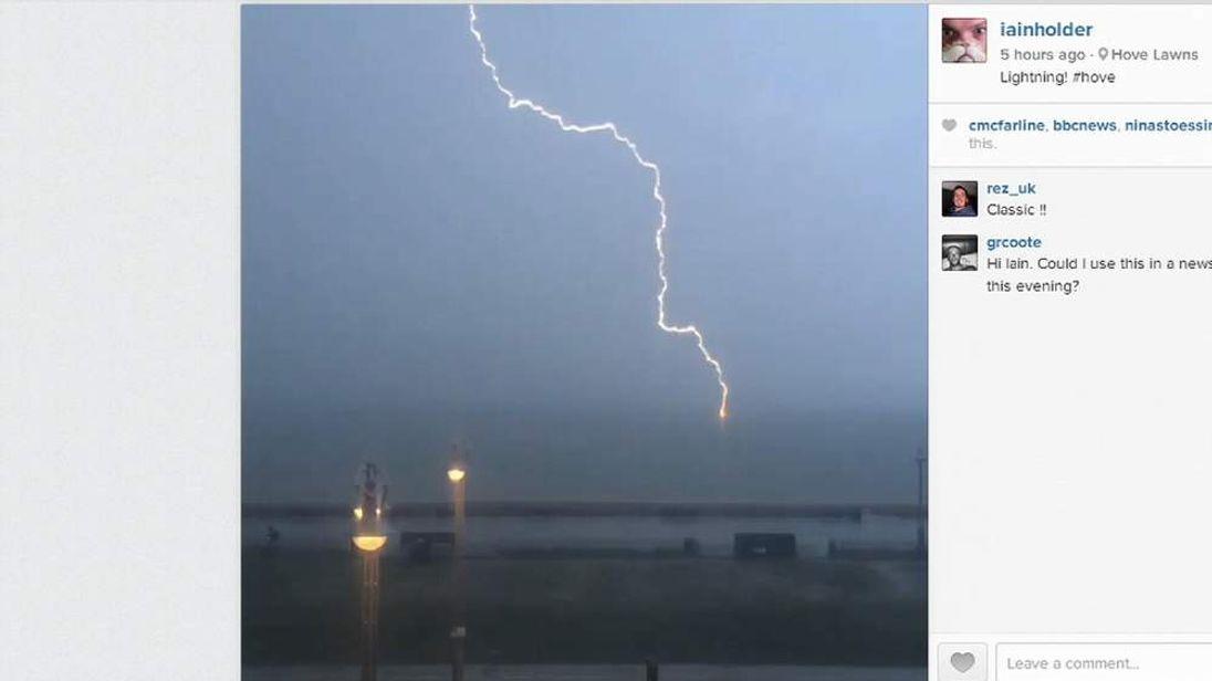 Brighton lightning