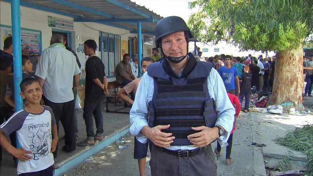 David Bowden in Gaza