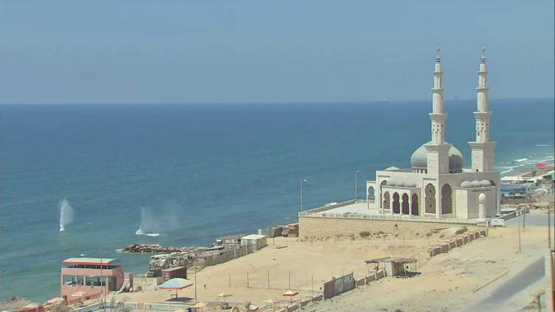 Mosque in Gaza