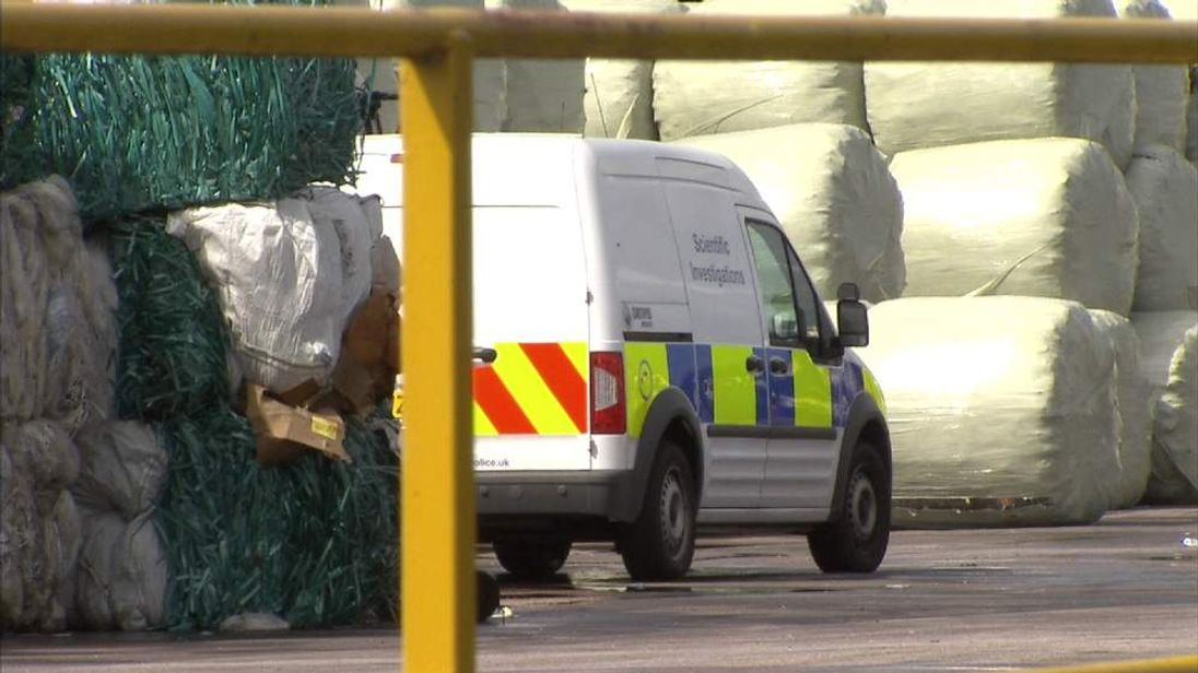 Adult male body parts were found at the Avonmouth Biffa plant