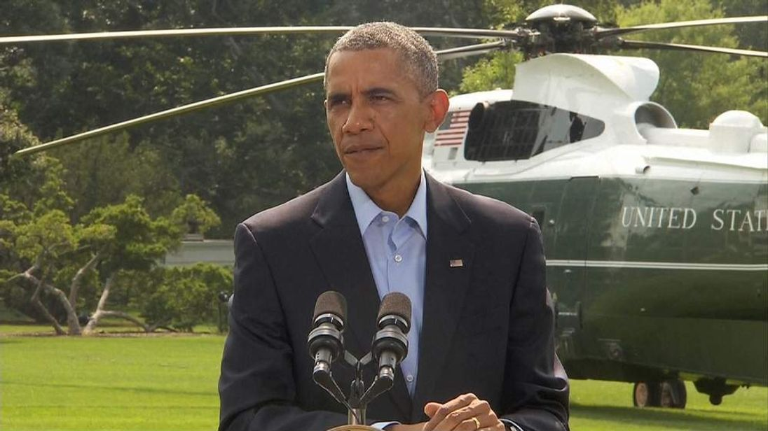 President Obama On The Crisis In The Middle East