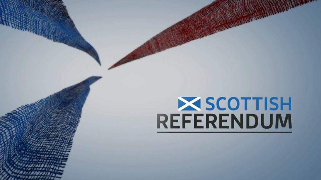 Scottish referendum slate