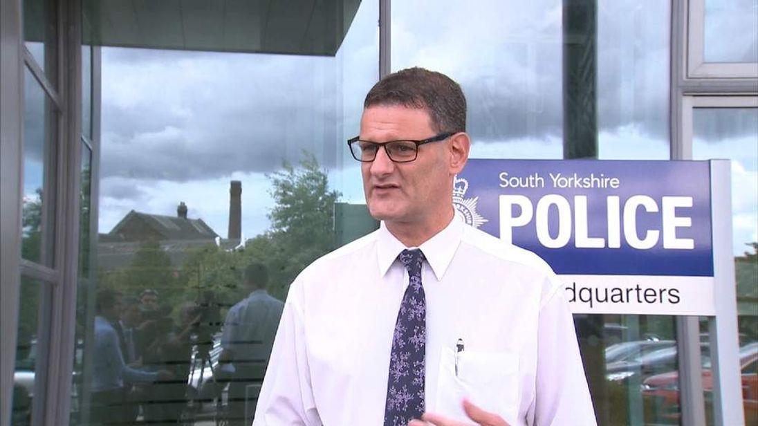 Matt Fenwick, South Yorkshire Police
