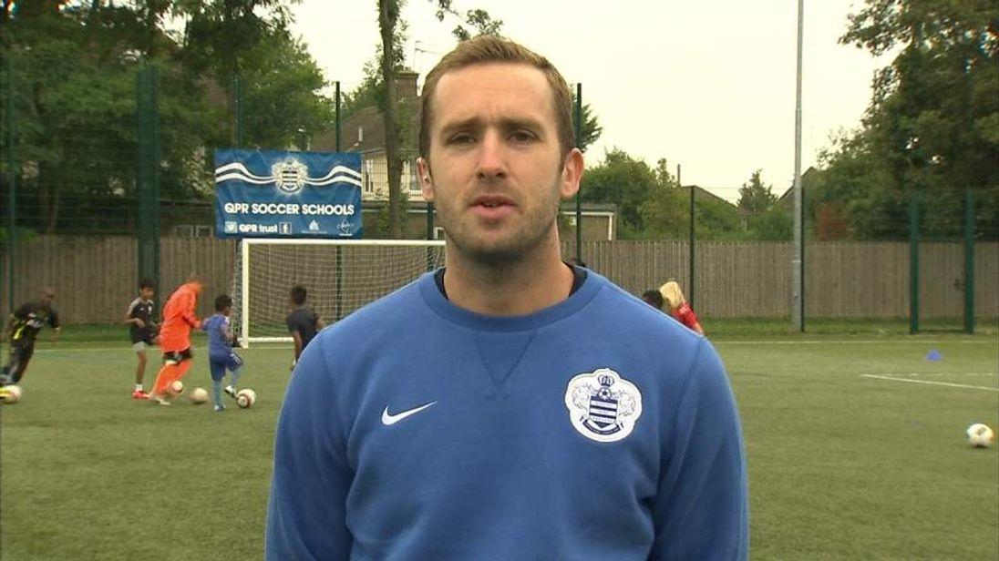 QPR Football Development Manager Steve McCarthy
