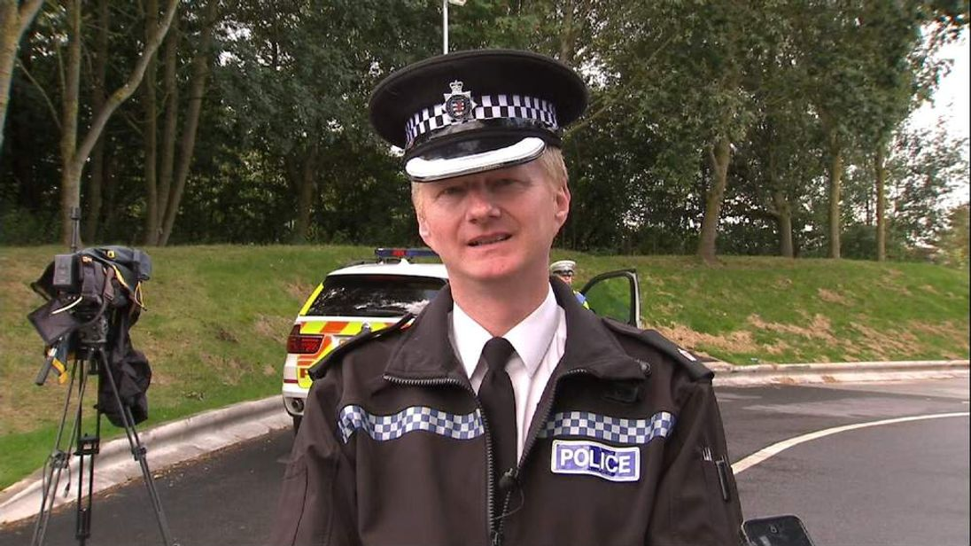 Supt Geoff Wessell of Avon and Somerset Police