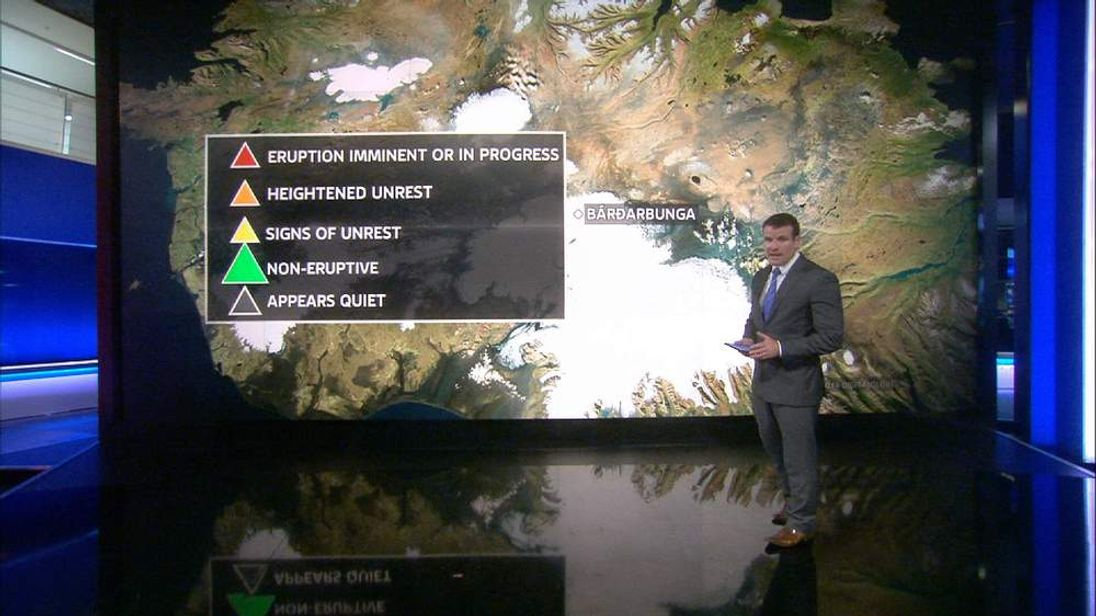 Sky's Tadhg Enright explains how volcano eruptions can disrupt flights