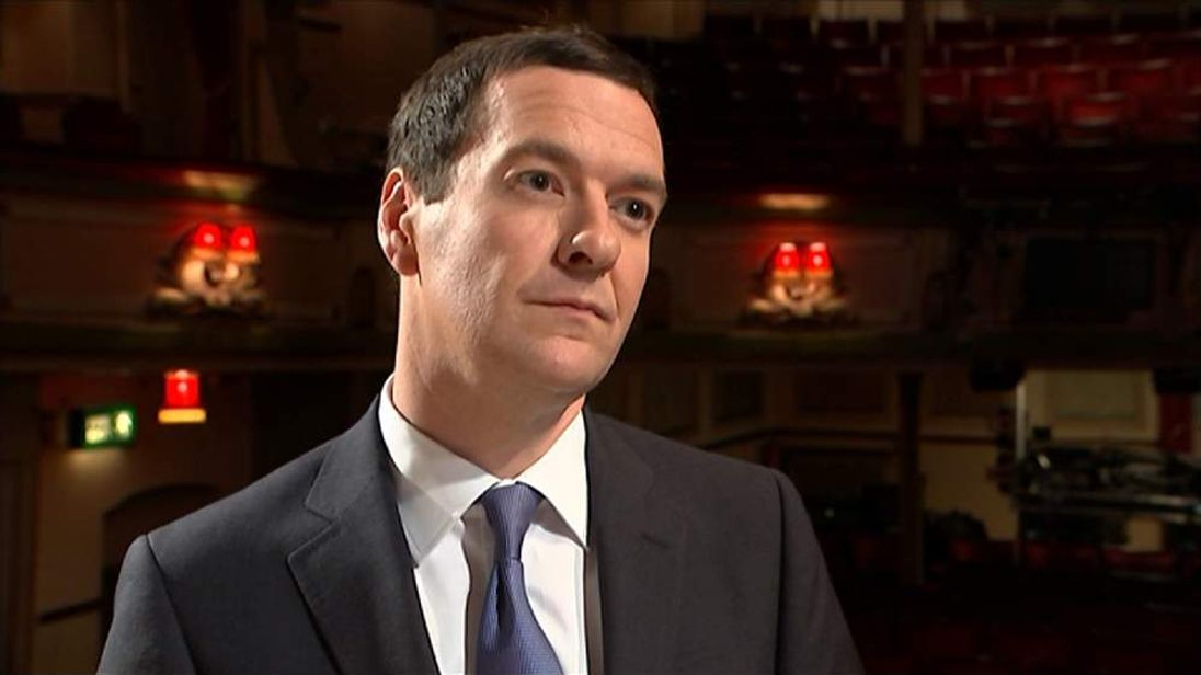 George Osborne on defection of Douglas Carswell