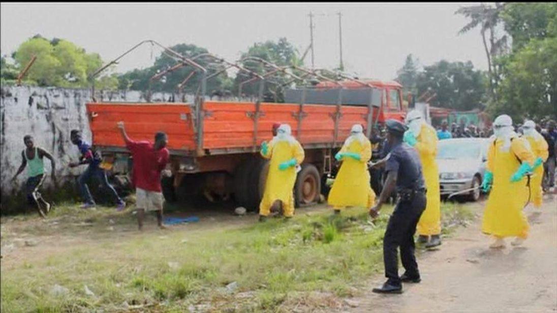 Ebola patient in Liberia escapes