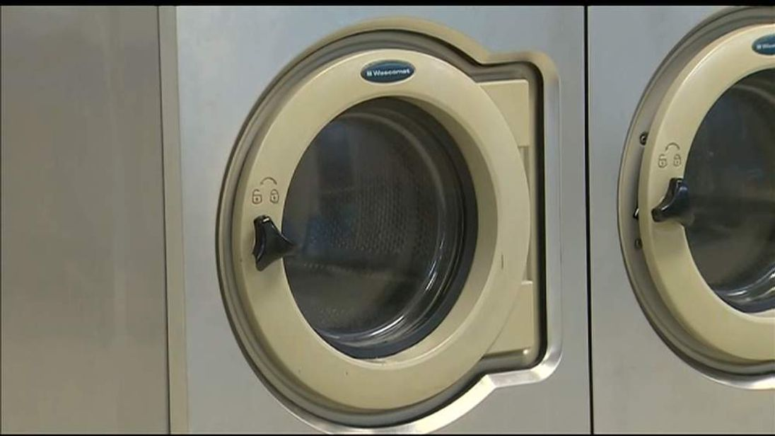 Girl Trapped In Washing Machine On Spin Cycle
