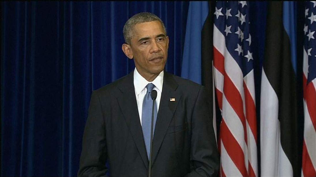 Barack Obama in Estonia