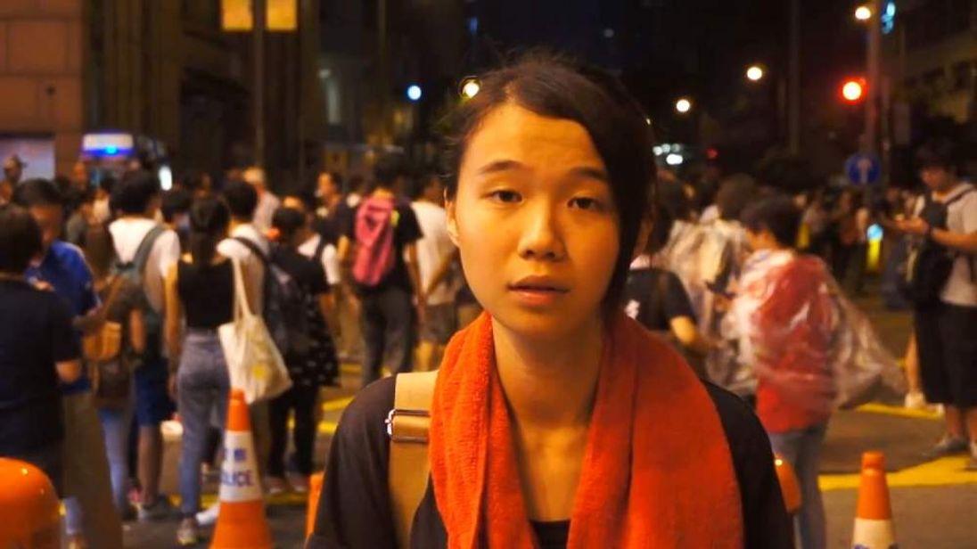 Hong Kong democracy protester Glacier Kwong