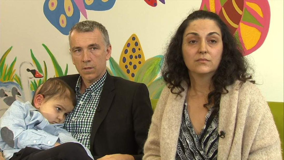 Ashya King with his Parents Brett and Naghemeh