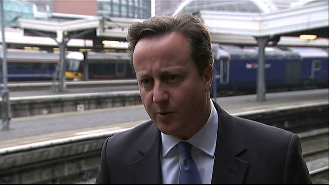 David Cameron reaction to the Rochester and Strood by-election result