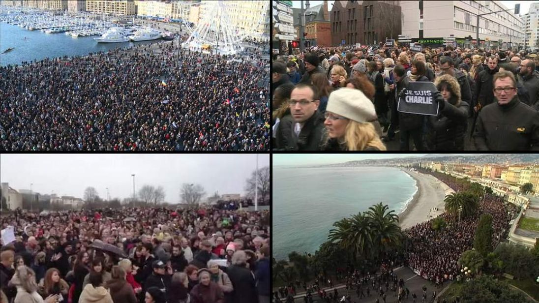 Rallies in France after Paris terror attacks