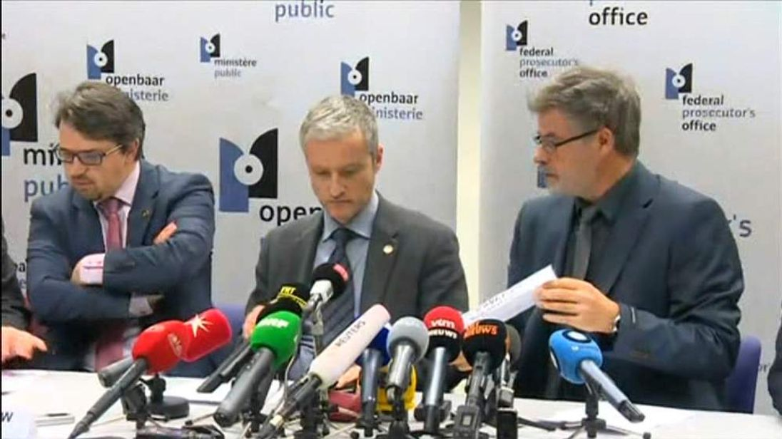 Belgian officials give an update on the terror raids in Verviers that led to the deaths of two suspects