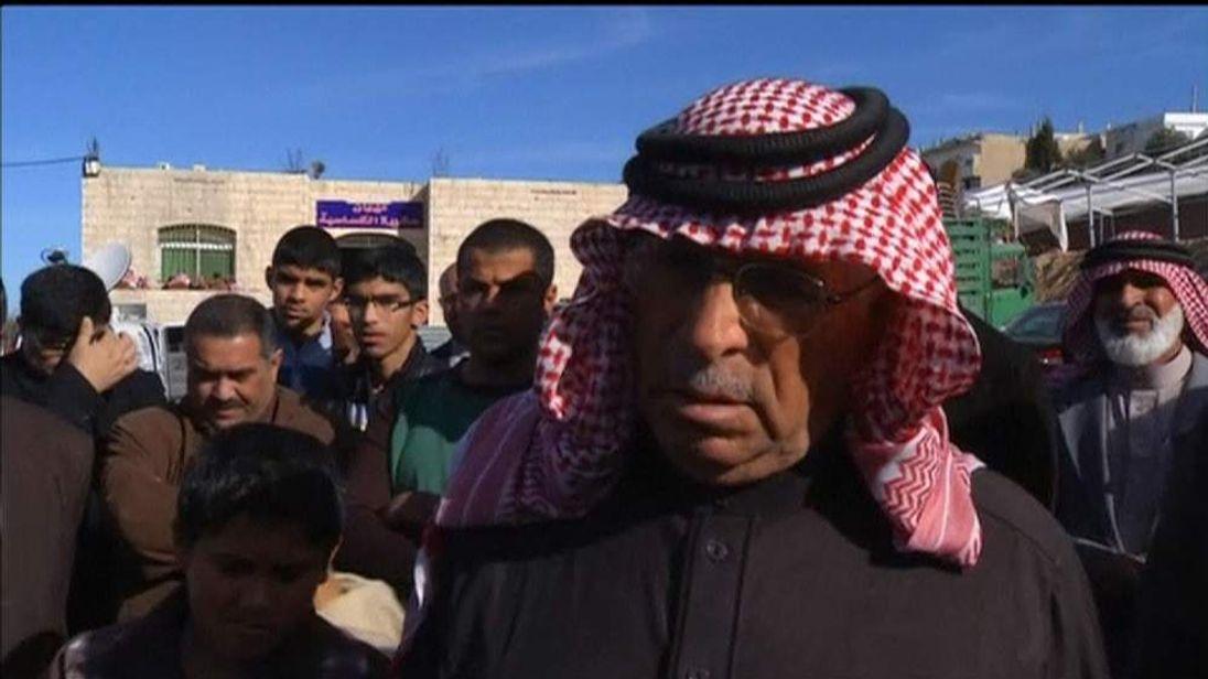 FATHER OF MURDERED JORDANIAN PILOT MUATH AL-KASAESBEH, SAFI AL-KASAESBEH