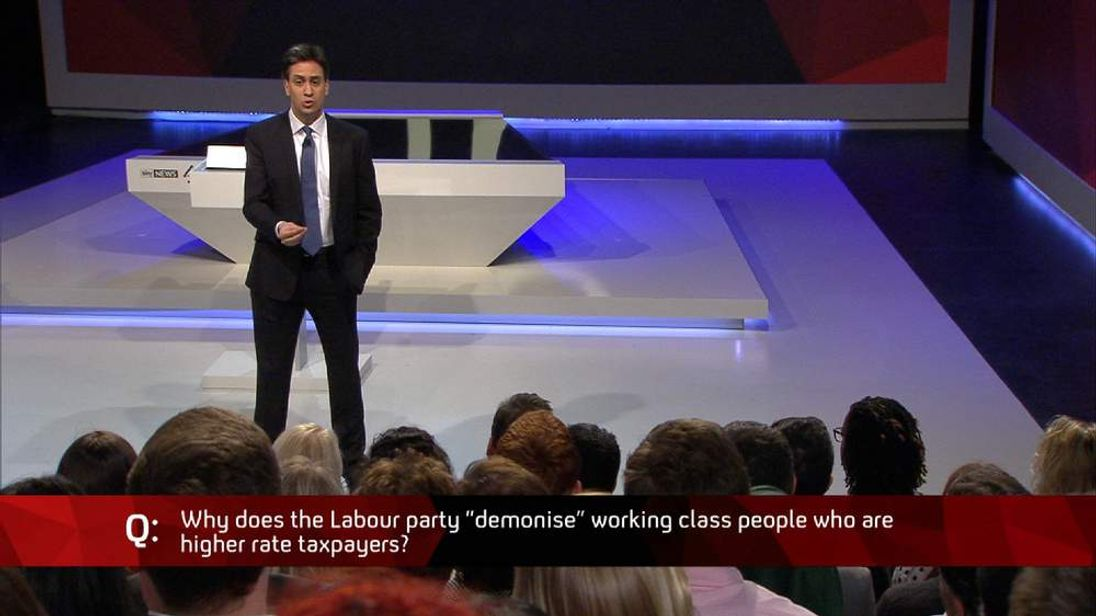 Ed Miliband answers questions