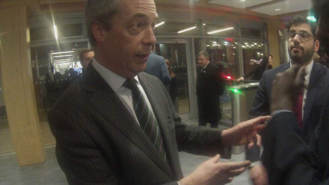 Nigel Farage questioned by SUBC contributors
