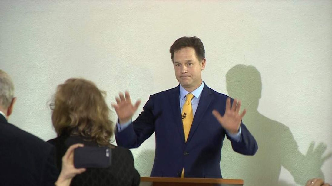 Nick Clegg resigns