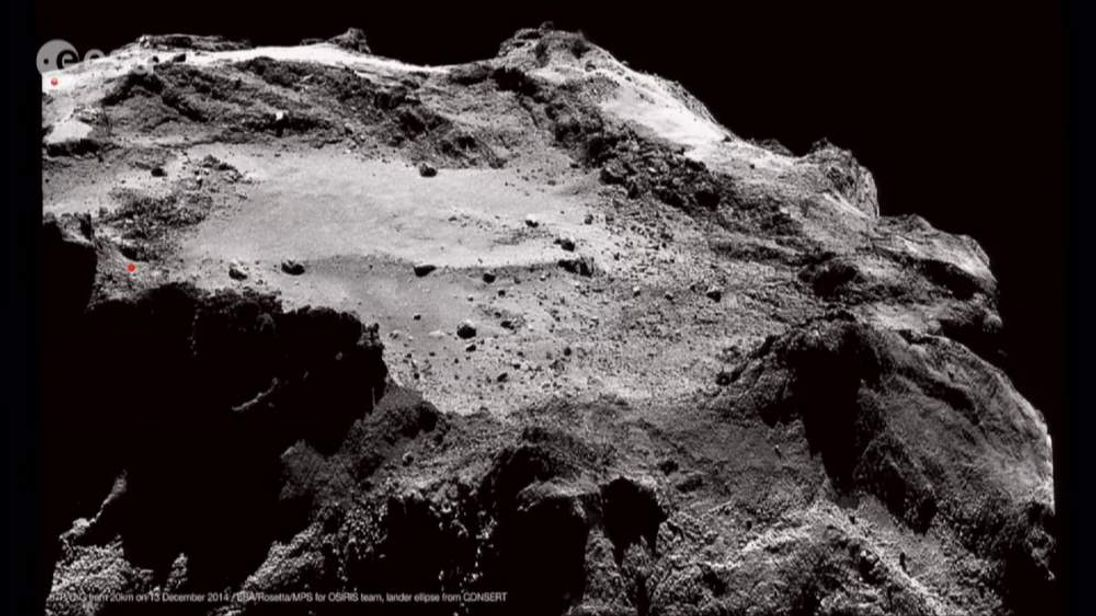 Scientists had been trying to determine where Philae had landed on Comet 67P
