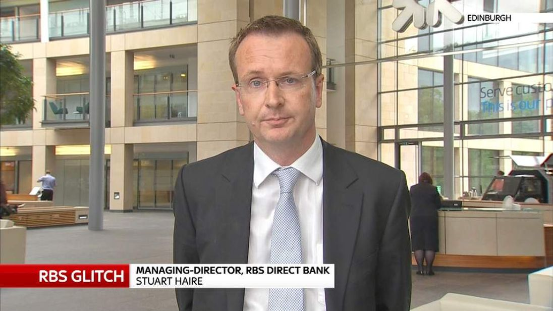 Stuart Hare, Managing director RBS Direct Bank