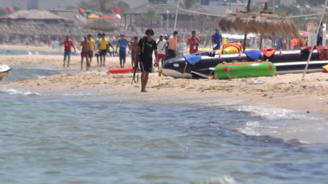 Tunisia Gunman On Beach