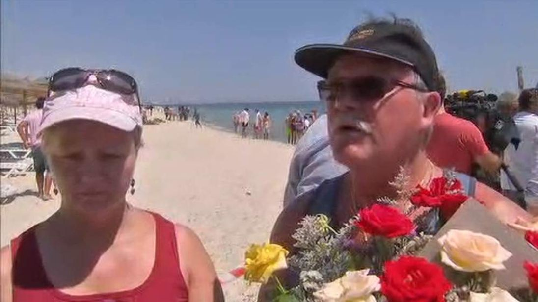 Tunisia shooting witnesses Dawn And Ted Wright