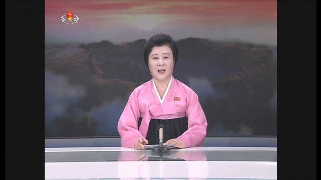 NORTH KOREA NEWS READER