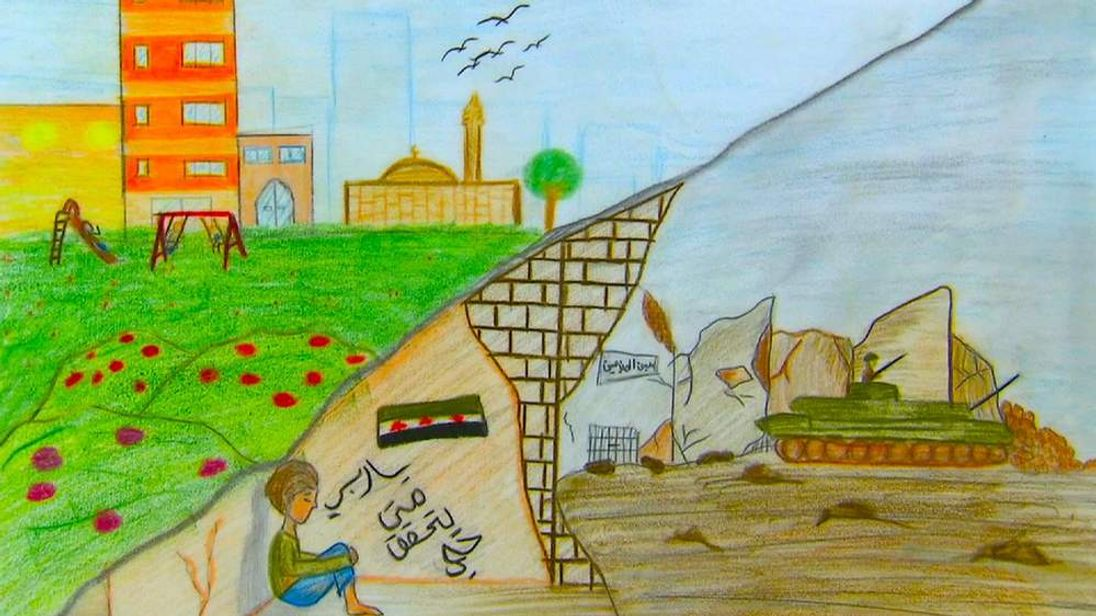 Syria Children's drawings