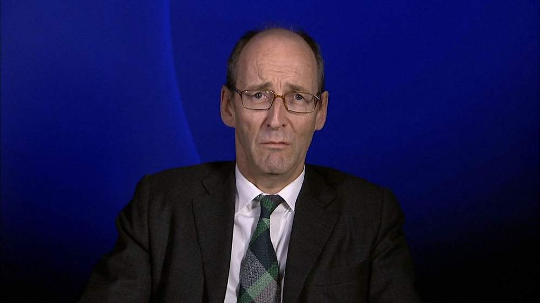 Treasury Select Committee chairman Andrew Tyrie