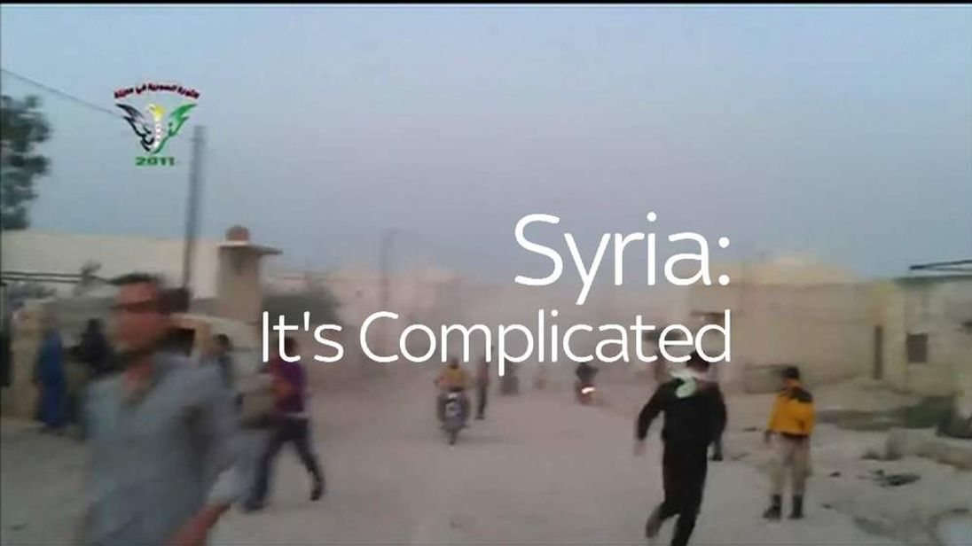Syria: It's Complicated