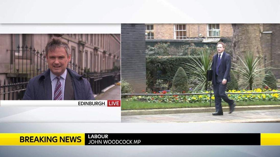 John Woodcock MP Talks To Sky News From Edinburgh