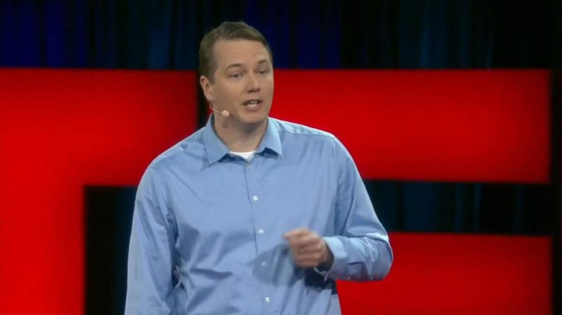 Chris Urmson is the head of Google's Self-Driving Car Project. Picture: TED
