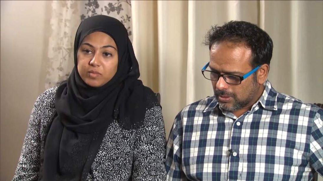 Saira Khan and husband