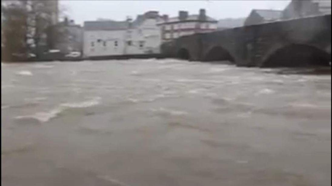 River Kent Flooding In Kendal