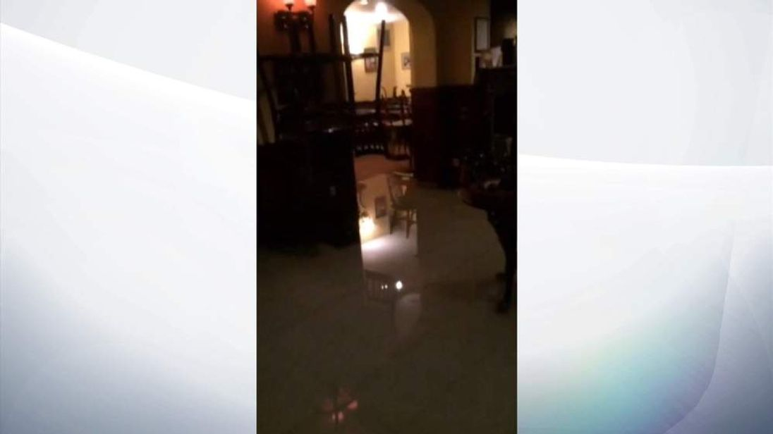 Hotel Flooded