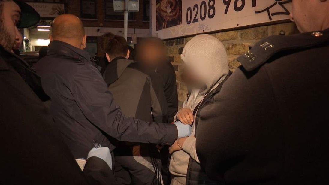 Mark White London Gang Crime Crackdown Grab