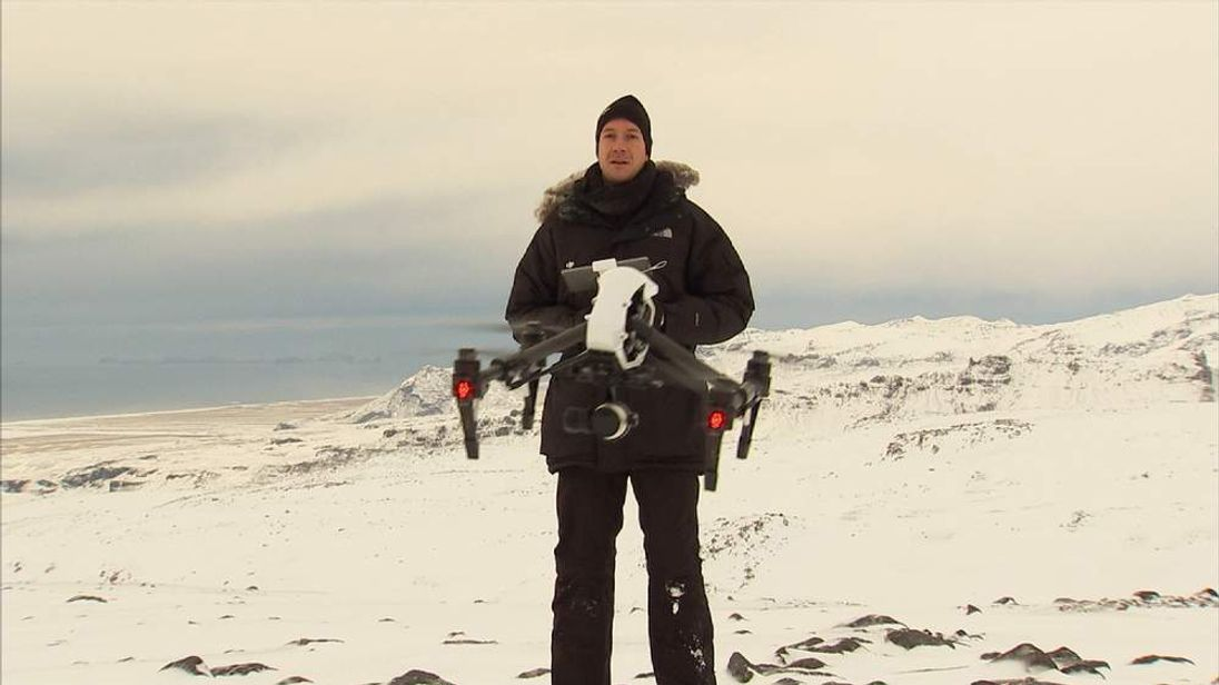 DJI Drone Pilot Ferdinand Wolf