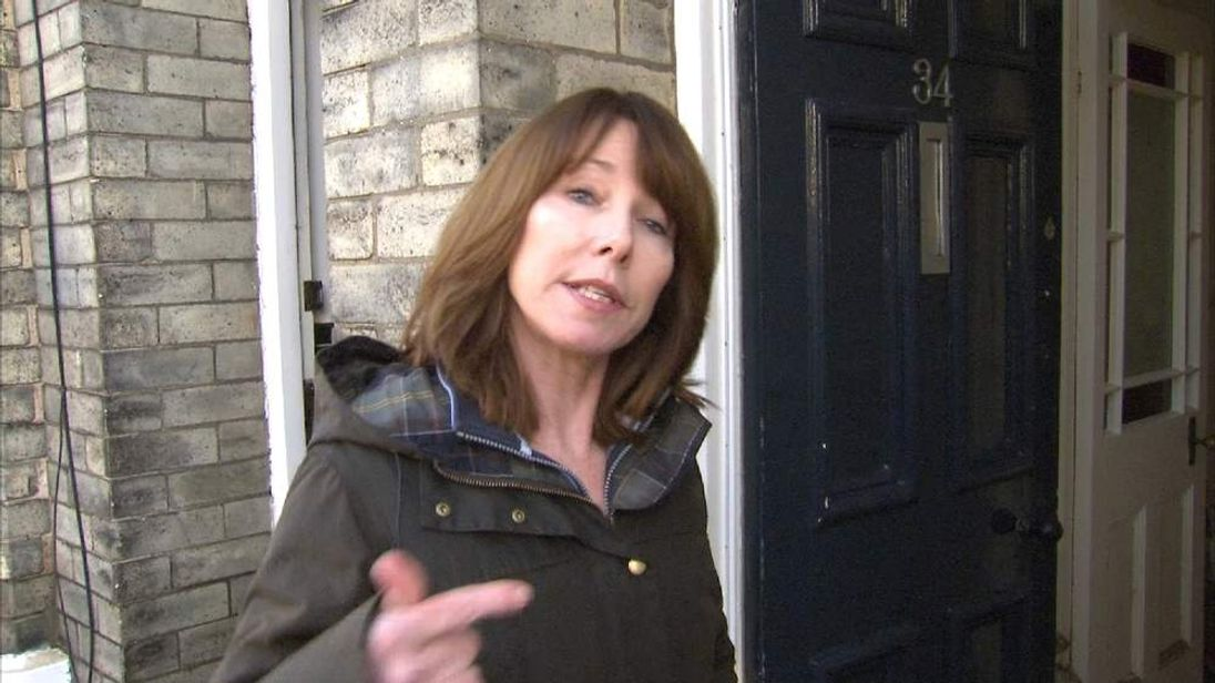 Kay Burley, York Floods