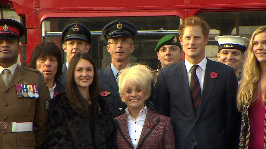 Barbara Windsor is made a dame for her services to charity and entertainment
