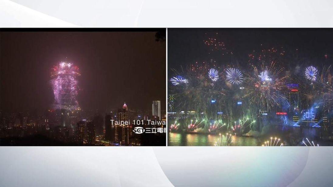 Taiwan and Hong Kon New Year 2015/16