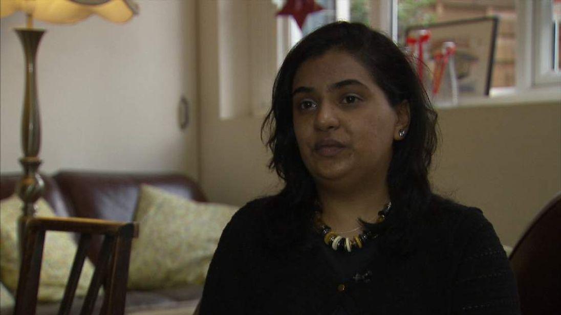 Konika Dhar, sister of alleged Islamic state militant Siddhartha Dhar
